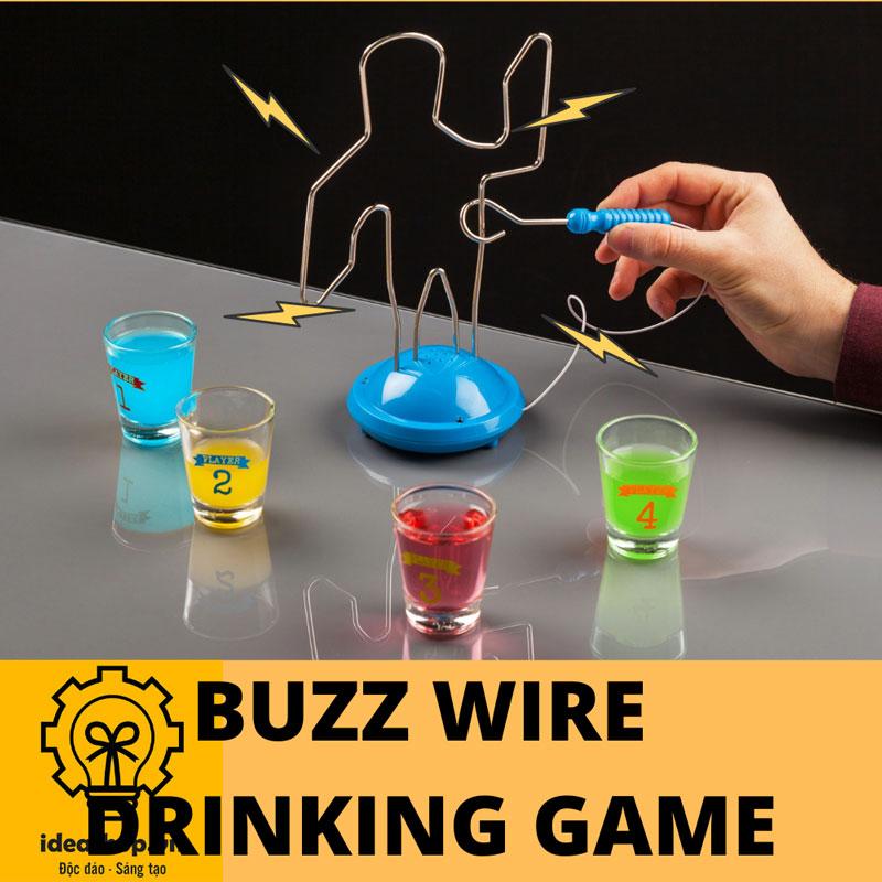 Đồ chơi uống bia Vui Nhộn BUZZ WIRE DRINKING GAME đồ chơi theo nhóm đồ chơi uống rượu