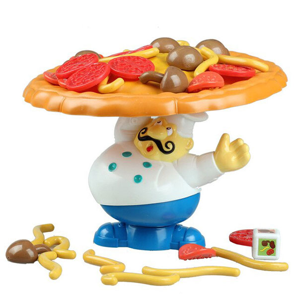 Trò chơi Thử Thách Cân Bằng Pizza - Balancing Pizza Game