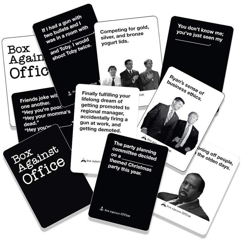 BOARD GAME VUI NHỘN BOX AGAINST OFFICE