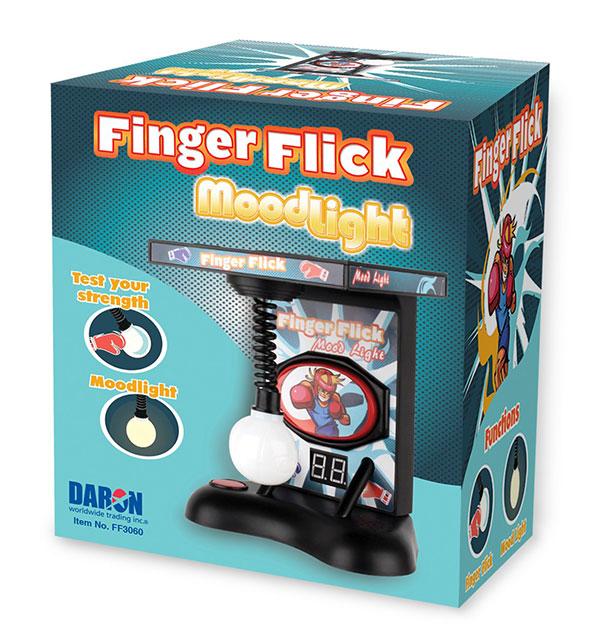 trò chơi đập bóng finger Flick MoodLight