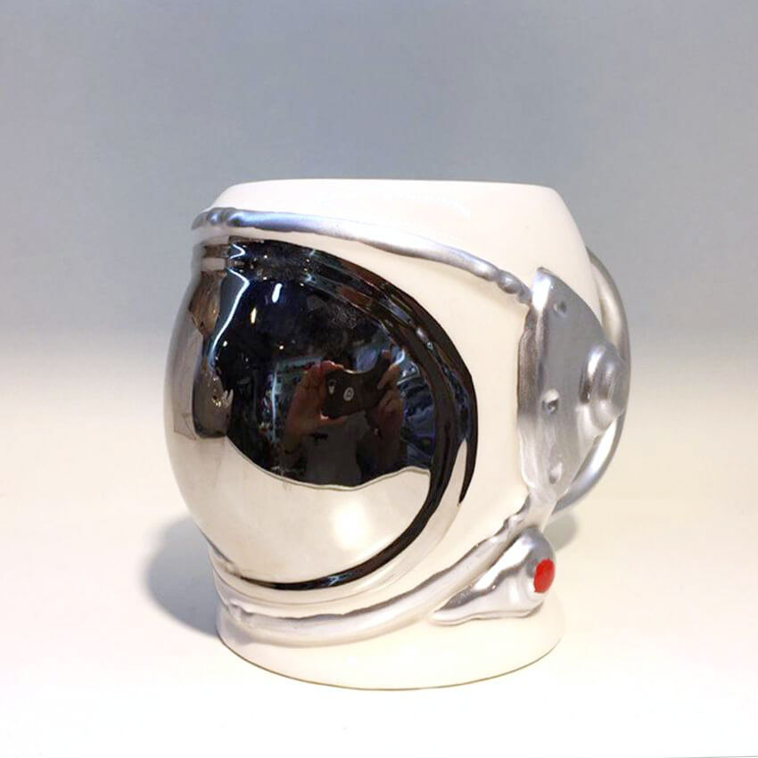 space helmet mug