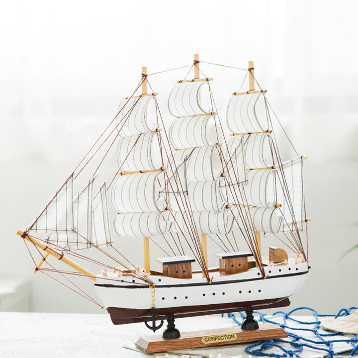 thuyền gỗ làm tay