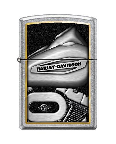 Zippo HD Motorcycle Street Pocket Lighter Chrome