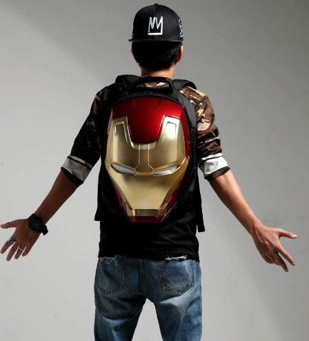 Balo Iron-Man Sáng Đèn