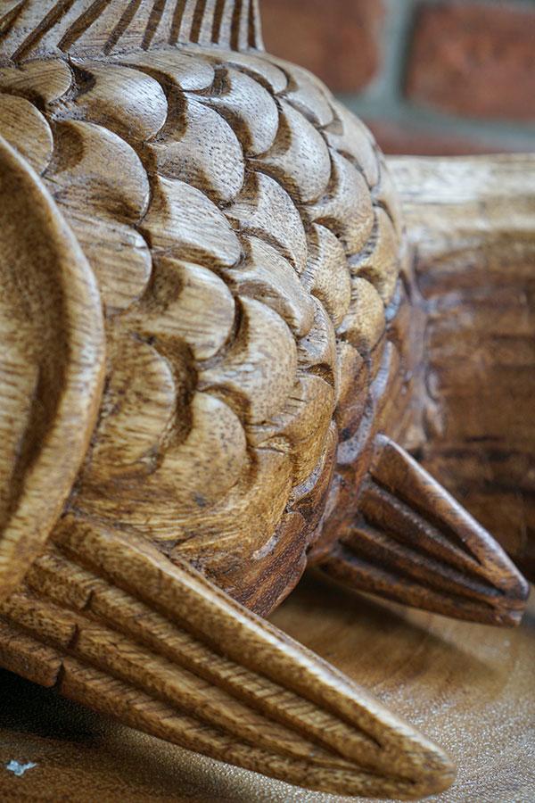 cá gỗ thủ công