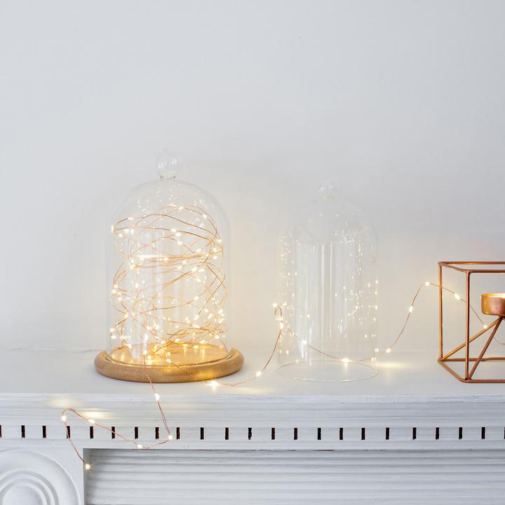 mua đèn led đom đóm màu vàng