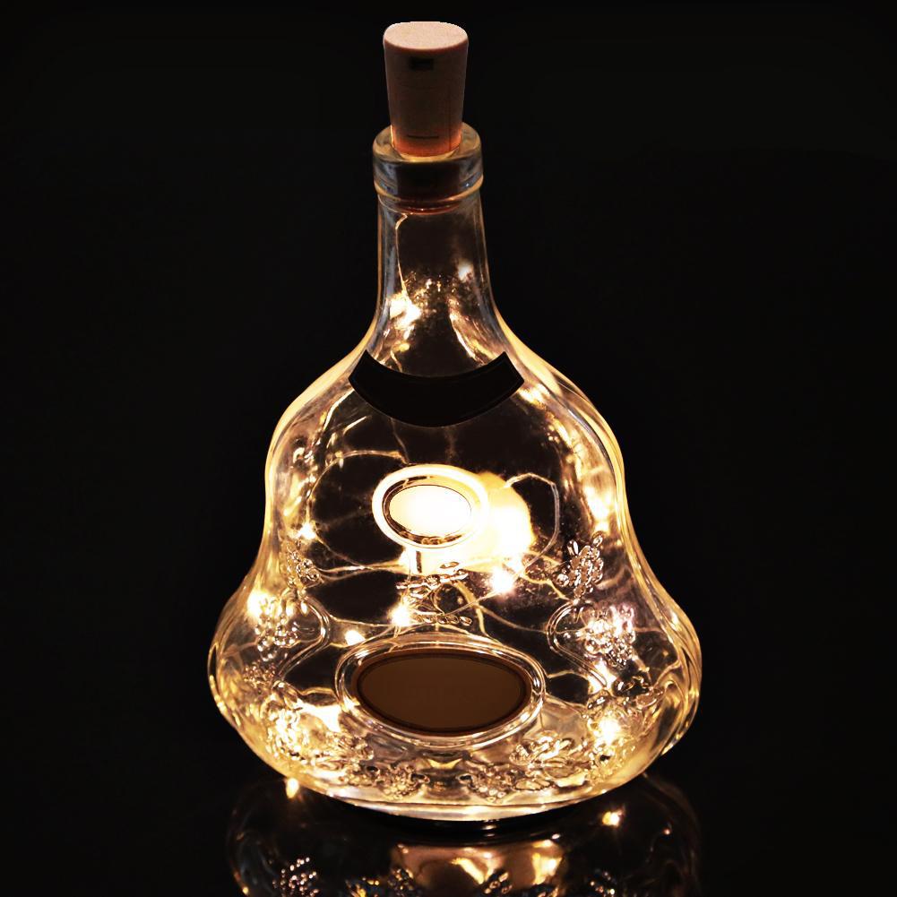 đèn dom đóm nút chai