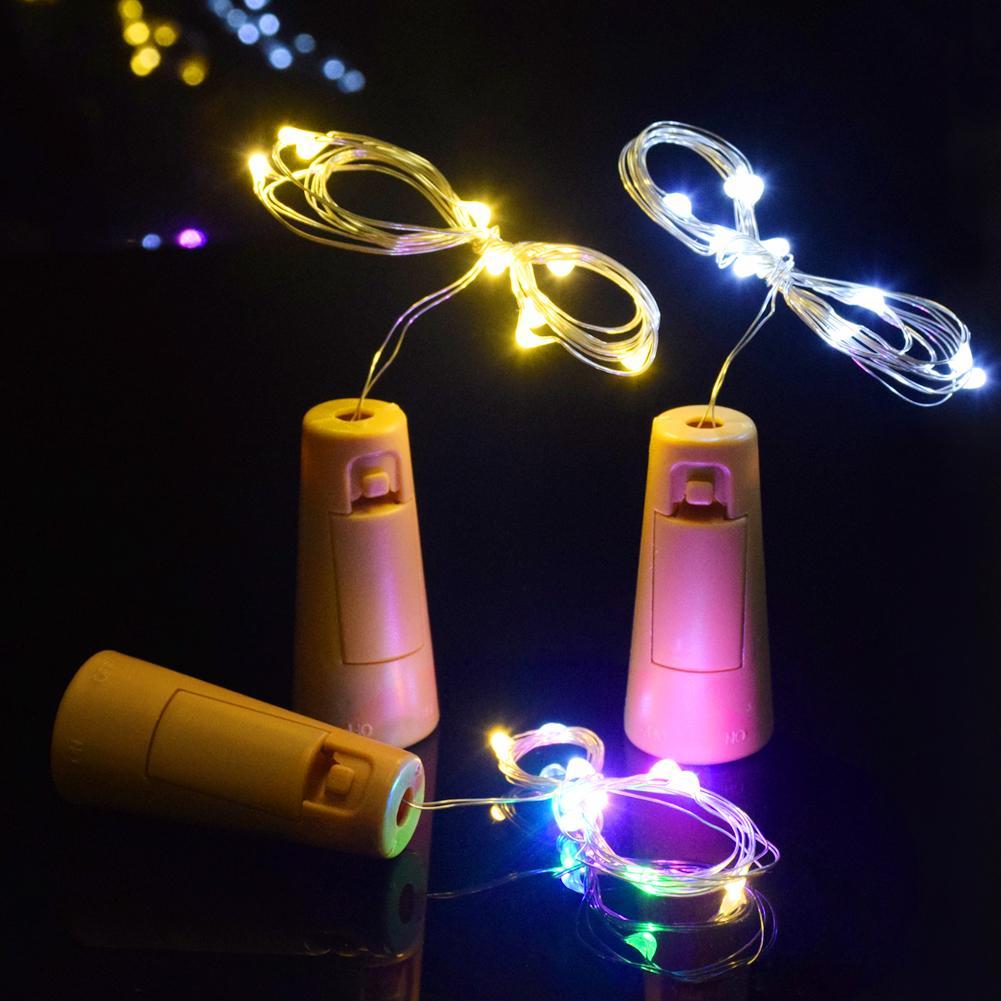 mua đèn đom đóm nút chai nhiều màu
