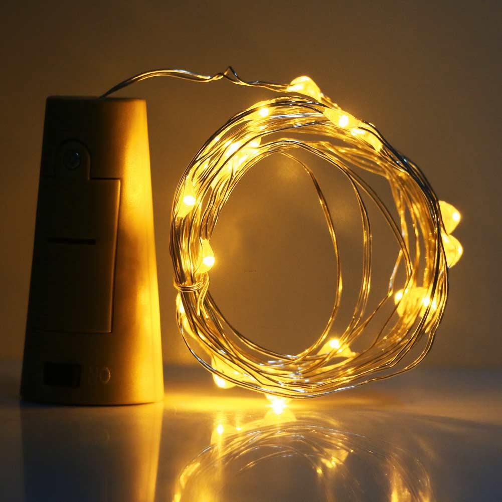 dây đèn led đom đóm nút chai