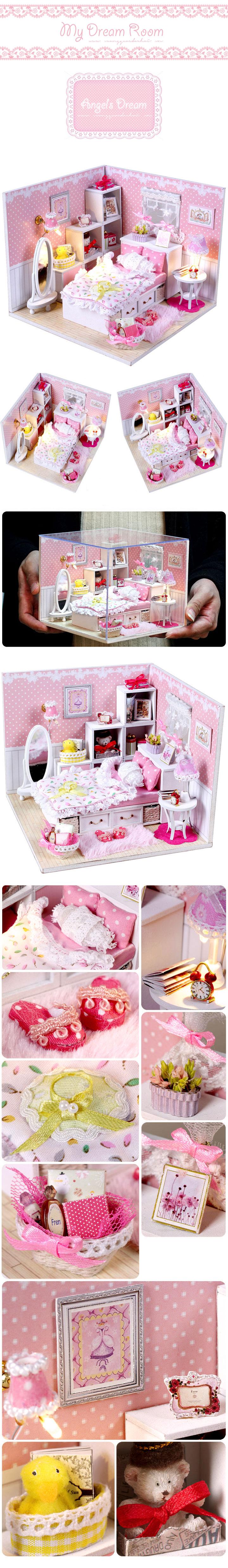 diy miniature dreamroom angelsdream