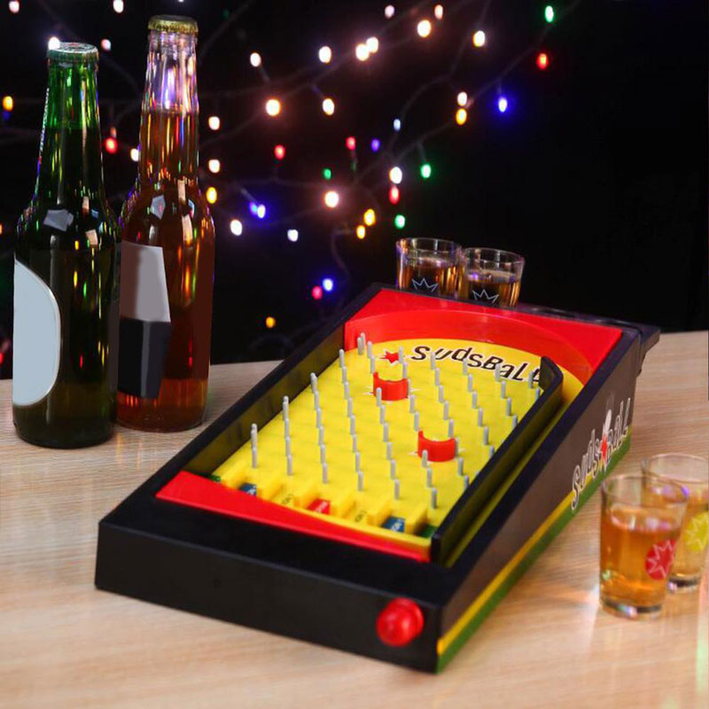 Đồ chơi Uống bia bắn bi Sudsball Drinking Game