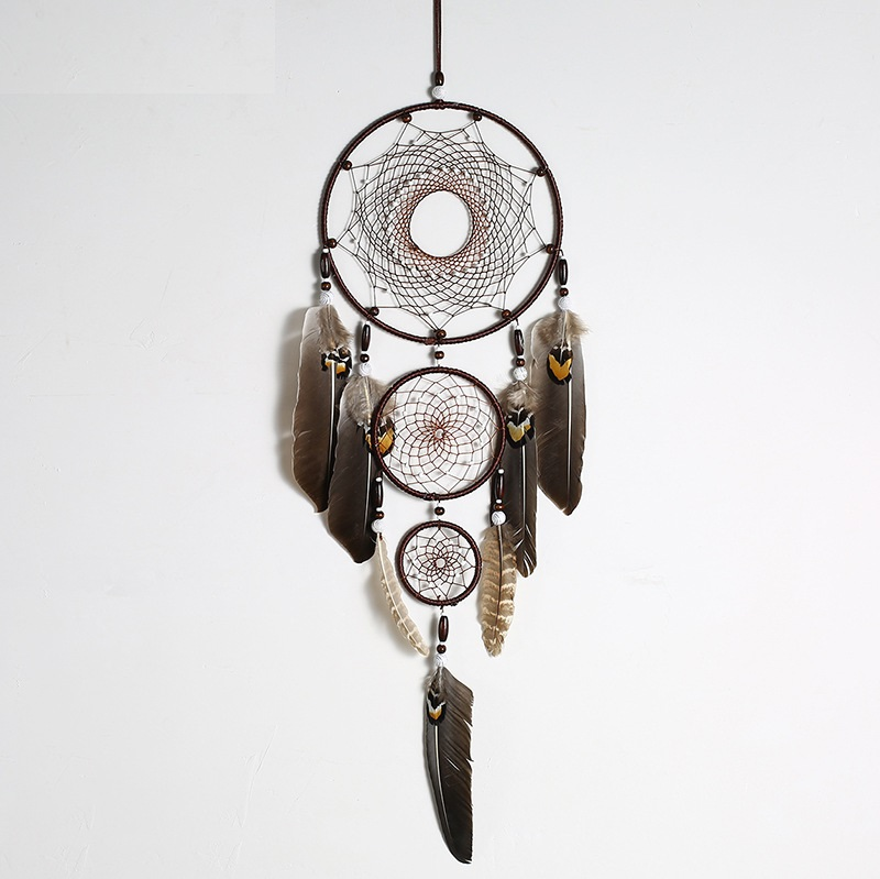 dream catcher lông thật