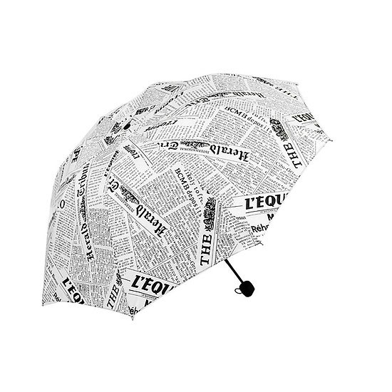 ô dù hình giấy báo