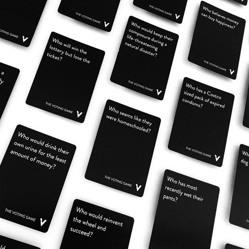 THE VOTING GAME – TRÒ CHƠI TÌNH BẠN