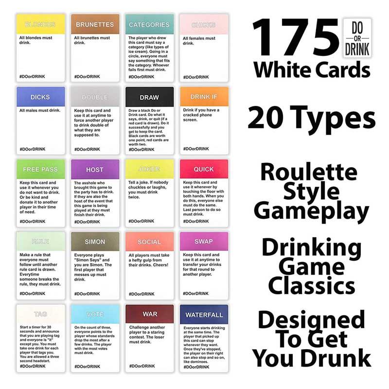 bài board game uống bia do or drink
