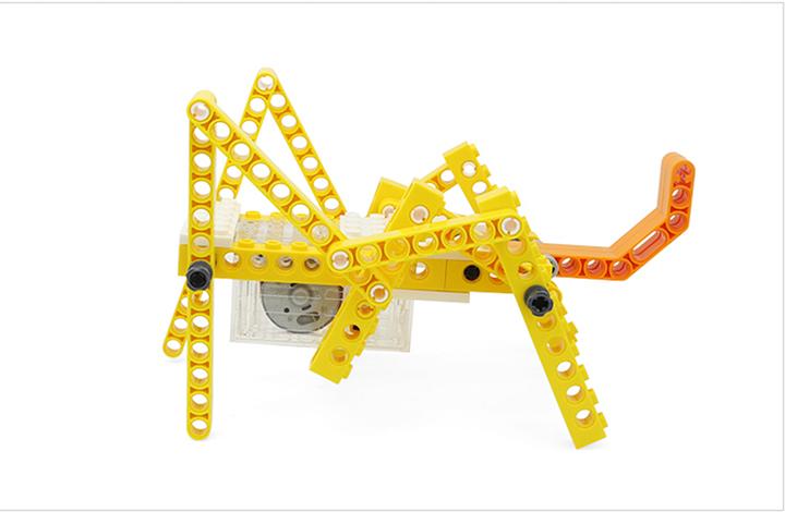 lắp ráp mô hình thú chuyển động