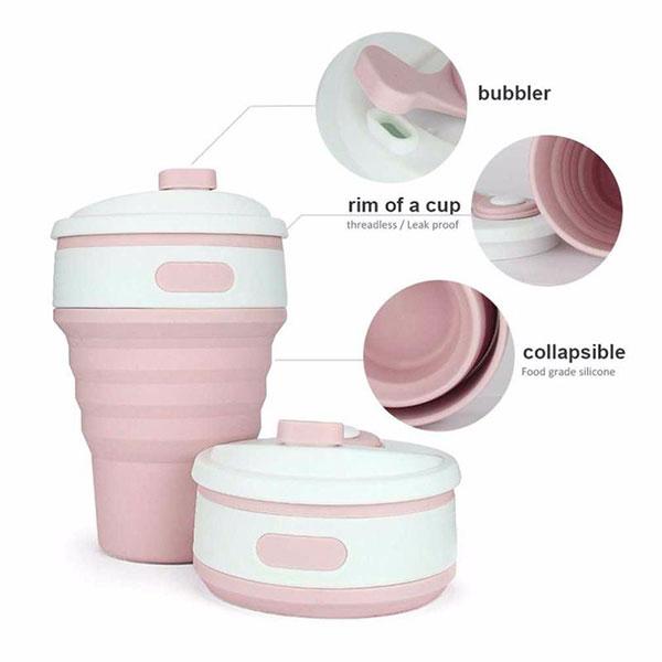 ly xếp nhựa tiện dụng folden cup