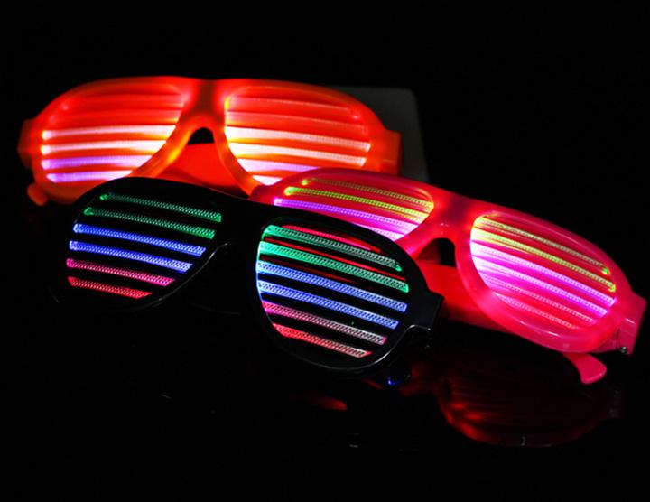 mắt kính đèn led