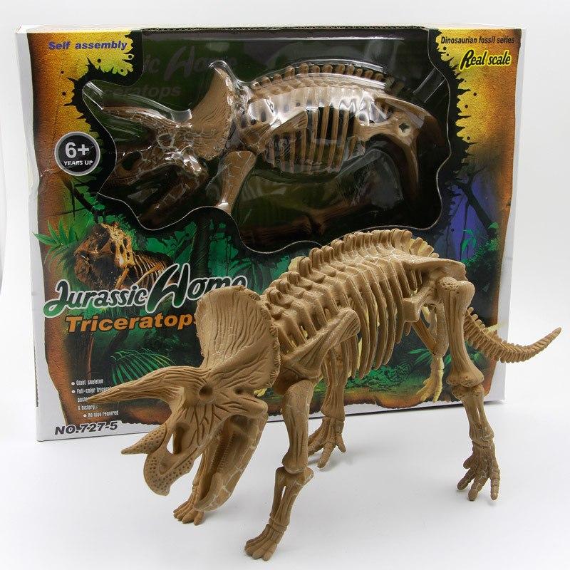 mô hình lắp ráp xương hoá thạch khủng long