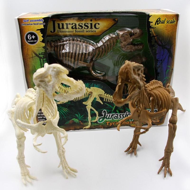mua mô hình lắp ráp xương khủng long