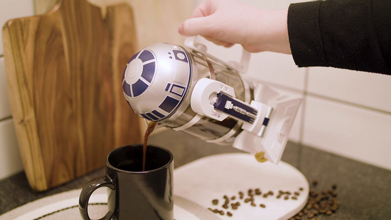 Máy pha cà phê star war