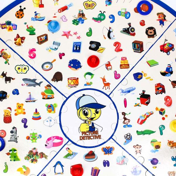 trò chơi nhanh tay lẹ mắt detective looking chart